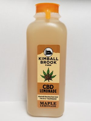 Kimball Brook CBD Maple Lemonade 16oz