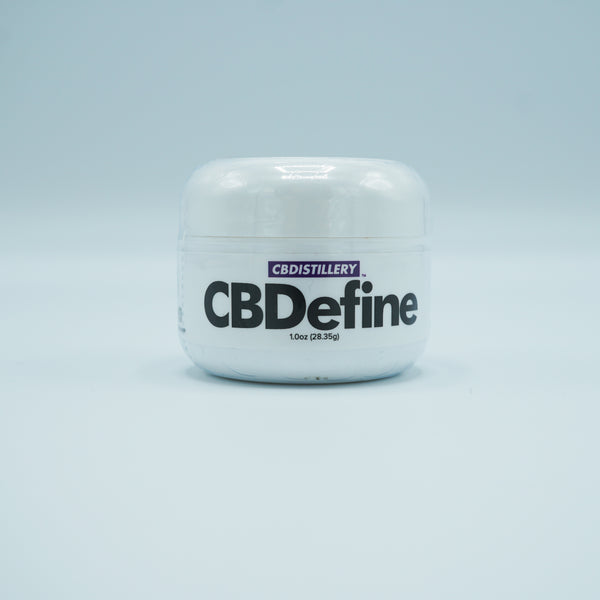 CBDistillery CBDefine CBD Skin Care Cream 500mg/1oz