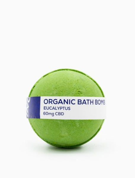 CBD Living Eucalyptus Bath Bomb - 60mg/8oz
