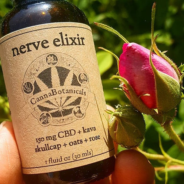 Cannabotanicals Nerve Elixir 150mg/1oz