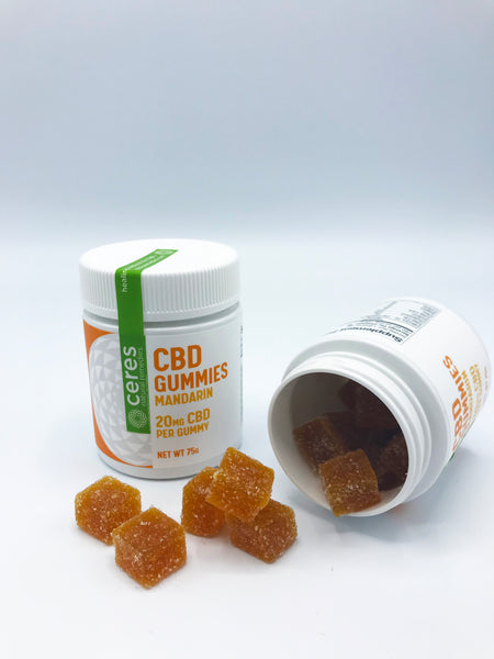 Ceres Natural Remedies Mandarin Orange Gummies  20mg/20ct