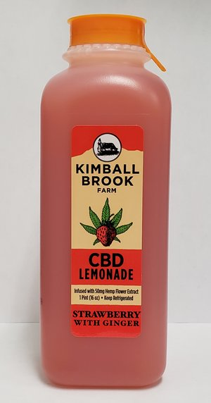 Kimball Brook CBD Strawberry Ginger Lemonade 16oz