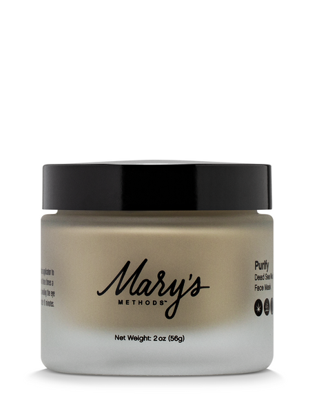 Mary's Methods Purify: Dead Sea Mud Face Mask - 2oz/50mg CBD