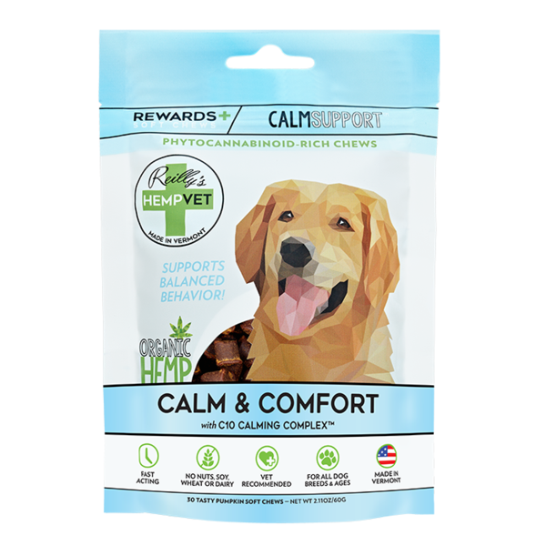 Reilly's HempVet Calm Support Rewards 2g