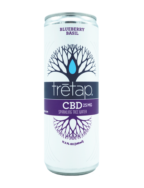 trētap CBD Blueberry Basil 25mg/11.5fl oz