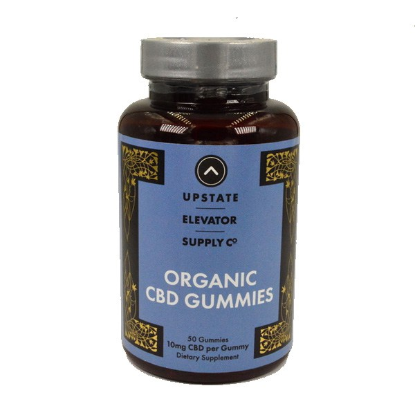 Upstate Elevator Organic Gummies 10mg