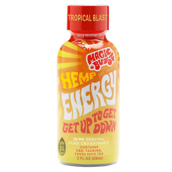 Magic Buzz CBD Hemp Energy Shot