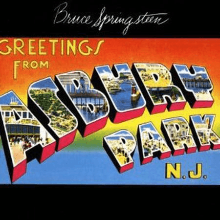Bruce Springsteen - Greetings From Ashbury Park, NJ-Dollar Vinyl Club