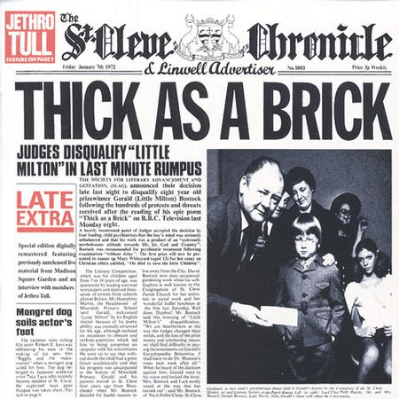 Jethro Tull - Thick As A Brick-Dollar Vinyl Club