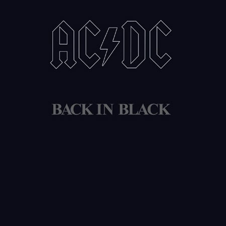 AC/DC - Black In Black-Dollar Vinyl Club