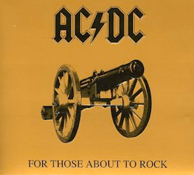 AC/DC - For Those About to Rock We Salute You-Dollar Vinyl Club