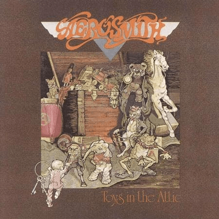 Aerosmith - Toys in the Attic-Dollar Vinyl Club