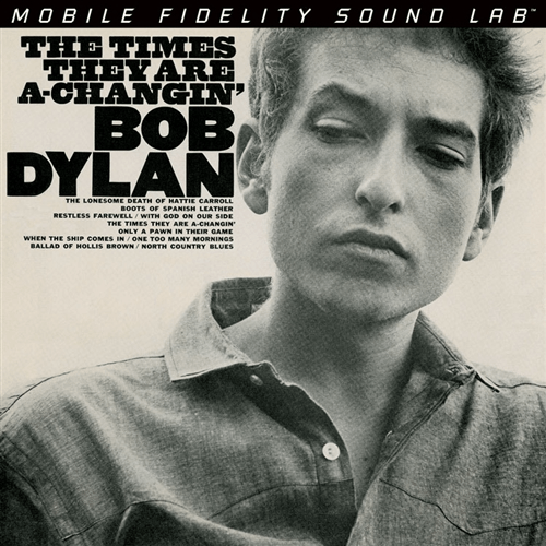 Bob Dylan - The Times The Are A-Changin'-Dollar Vinyl Club