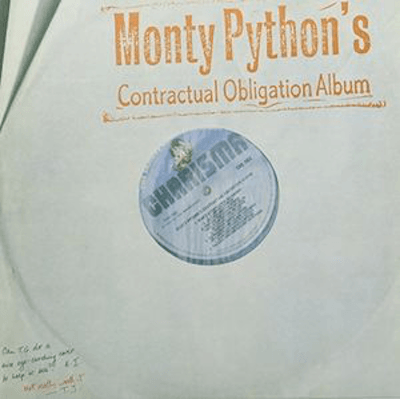 Monty Python - Contractual Obligation-Dollar Vinyl Club