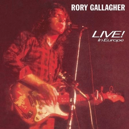 Rory Gallagher - Live In Europe-Dollar Vinyl Club