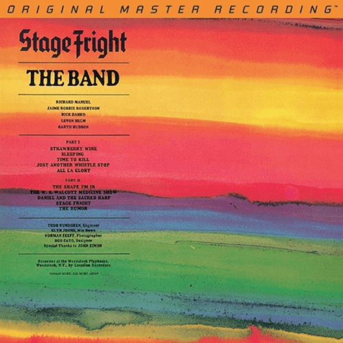 The Band - Stage Fright-Dollar Vinyl Club