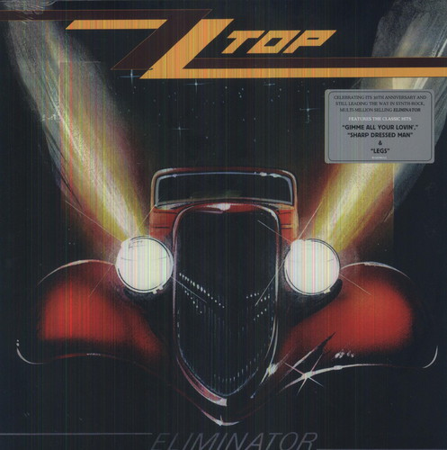 ZZ Top - Eliminator-Dollar Vinyl Club