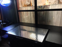 Griddle Cover, Diamond Plate Aluminum, for 36-inch Blackstone Griddle with side or rear grease collection