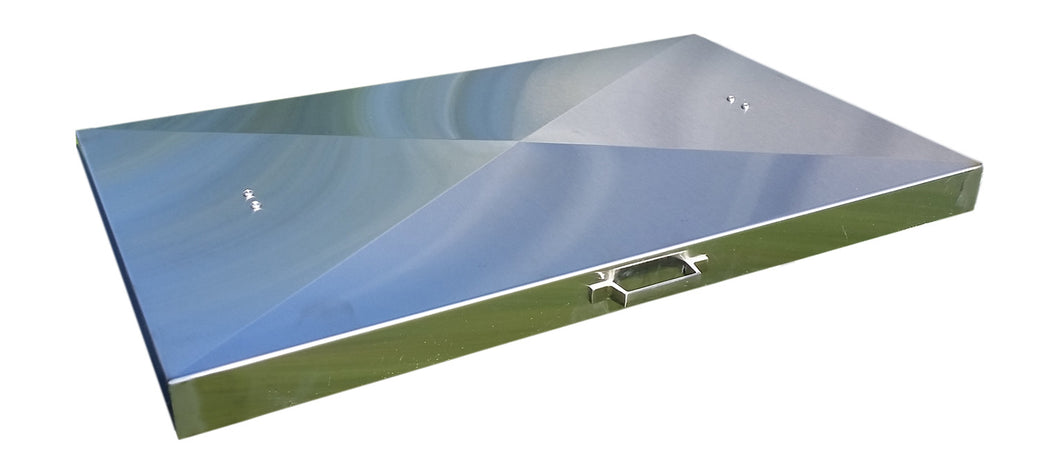 Griddle Cover, Stainless Steel, for Camp Chef Griddle FTG600
