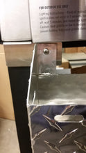 FACTORY SECONDS:  Front Tool and Bottle Tray for Camp Chef FTG600, Diamond Plate Aluminum