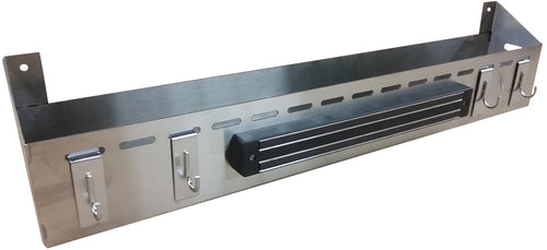 FACTORY SECONDS:  Front Tool and Bottle Tray for Camp Chef FTG600, Stainless Steel