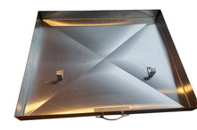 Griddle Cover, Stainless Steel, for Camp Chef FTG475 Flattop Griddle, 3 Burner
