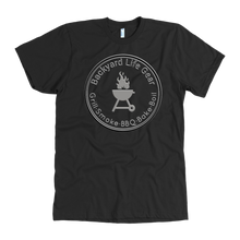 Backyard Life Gear Logo Tee - Dark Colors- American Apparel Mens