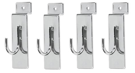 Extra Hooks for Front Tray Magnetic Tool and Bottle Holder - 4 pieces