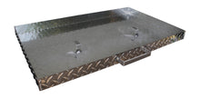 FACTORY SECONDS:  Griddle Cover, Diamond Plate Aluminum, for 28-inch Blackstone Griddle