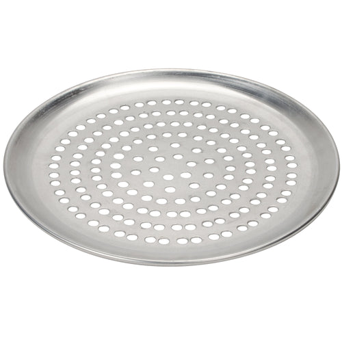 Pizza Grill Pan, Perforated 12-inch Aluminum (2-pack)