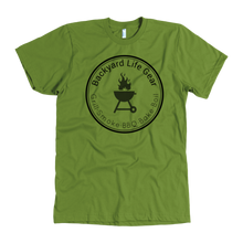Backyard Life Gear Logo Tee - American Apparel Mens