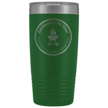 Backyard Life Gear Logo 20 Ounce Vacuum Tumbler