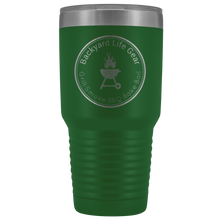 Backyard Life Gear Logo 30 Ounce Vacuum Tumbler
