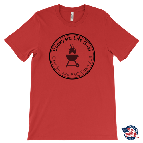 Backyard Life Gear Logo Tee -- Canvas Mens