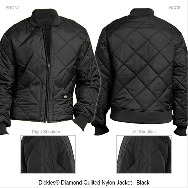 Jacket - Quilted - Standard Back -