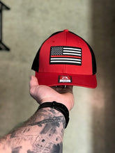 Thin Red Line - Black/Red Baseball Cap
