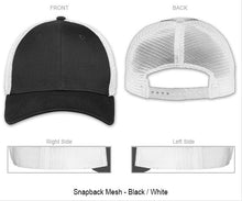 "3D Puff - Company + City ""You Design"" on Snapback Baseball Cap"