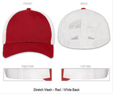 "3D Puff Flag/Number ""You Design"" - Flexfit Baseball Cap"