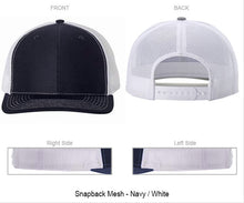 "Oval Plate ""You Design"" on Snapback Baseball Cap"