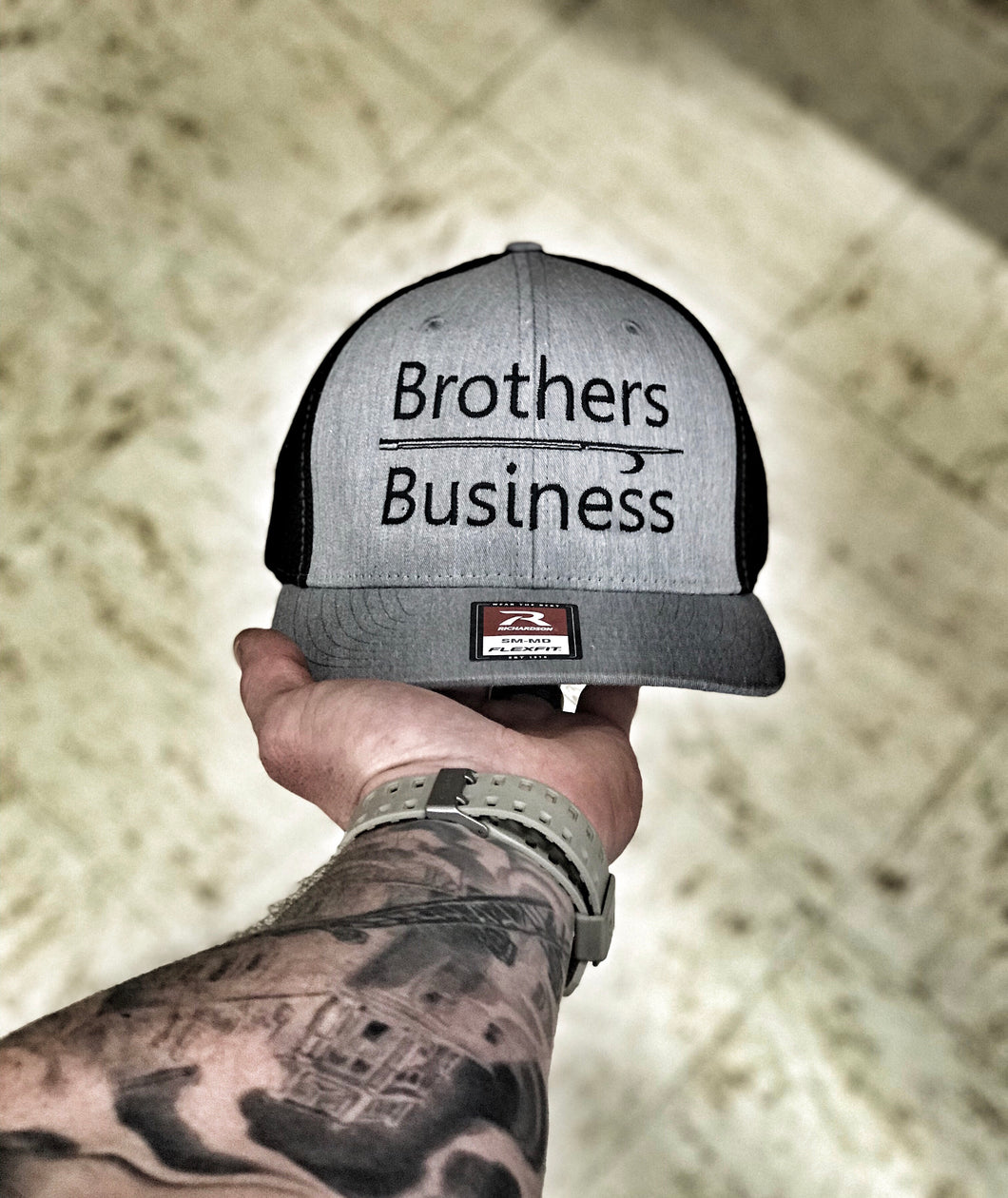 Brothers OVER Business flexfit/snapback