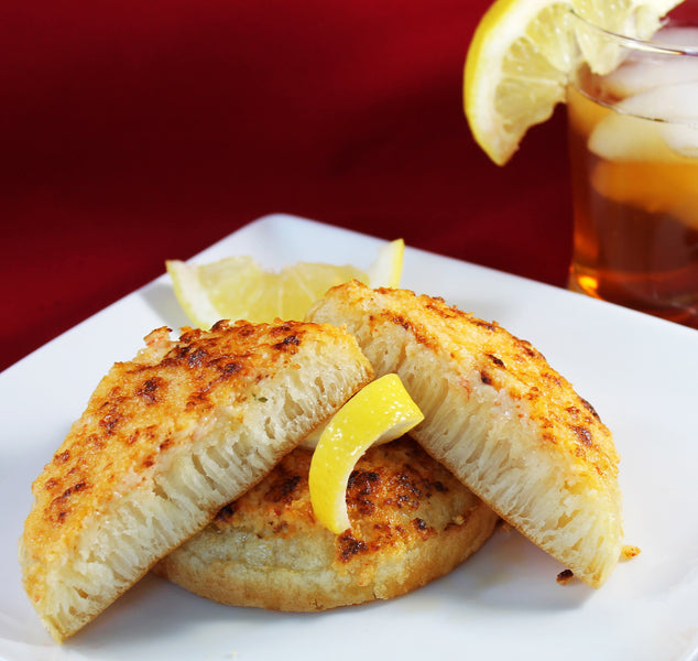 "Sharrock's Bakery Recipes - ""Crumpet Crabbies"""