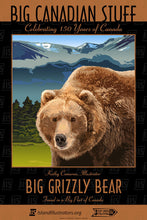 Big Grizzly Bear