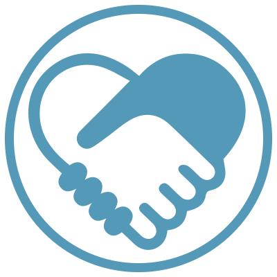 Fundraise Shaking Hands Icon
