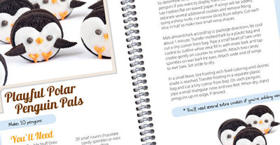 Almost too Cute to Eat Playful Polar Penguin Pals recipe pages