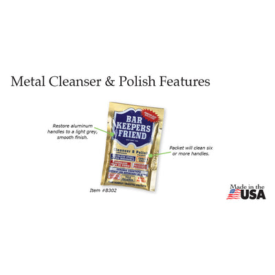 Metal Cleaner & Polish - Item B302