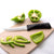 Rada Cutlery Anthem Wave Super Parer on cutting board with peppers.