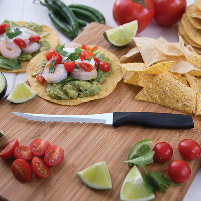Anthem Wave Tomato Slicer with taco ingredients.