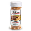 Rada Quick Mix Burger & Fry Seasoning shaker bottle package.