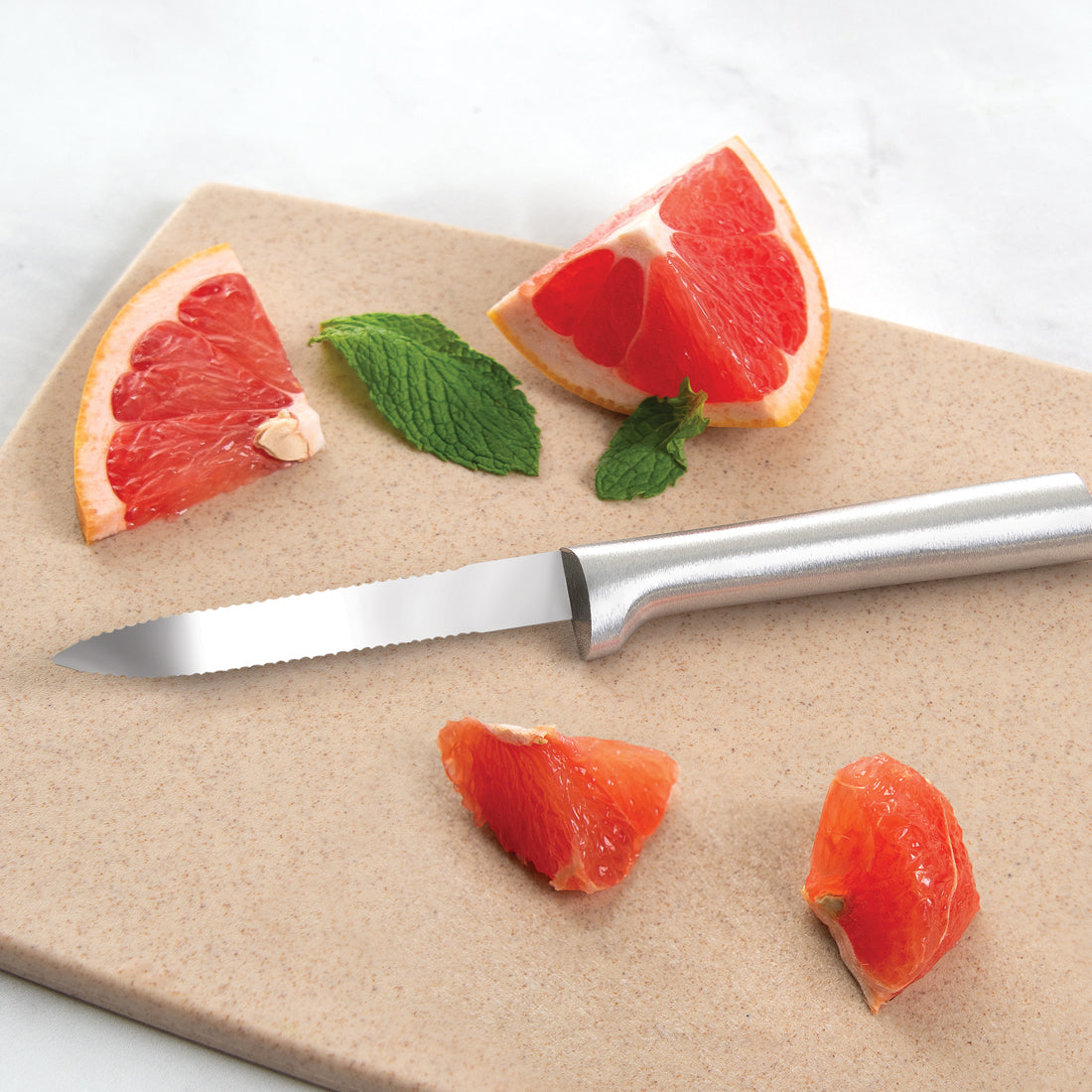 Grapefruit Knife cutting grapefruits