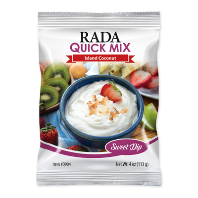 Rada Quick Mix Island Coconut Sweet Dip package.